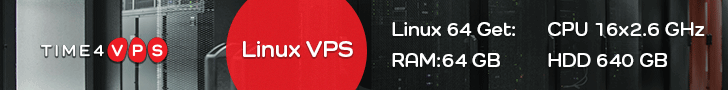 Time4VPS - VPS hosting in Europe