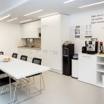 Time4VPS office kitchen