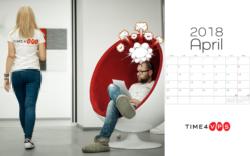 2018 Time4VPS Calendar