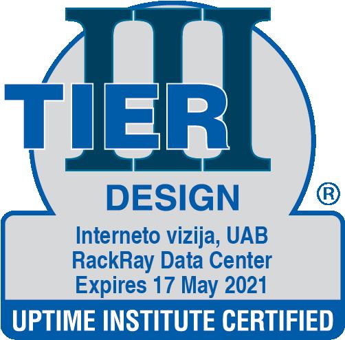 Tier III Certificate